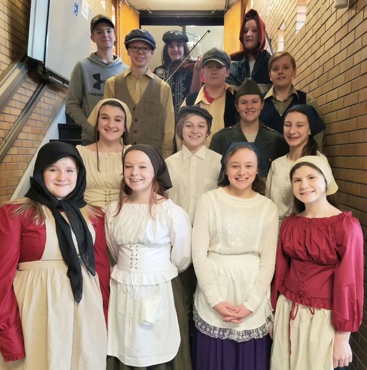 EJHS Fiddler on the Roof Jr. Feb. 28