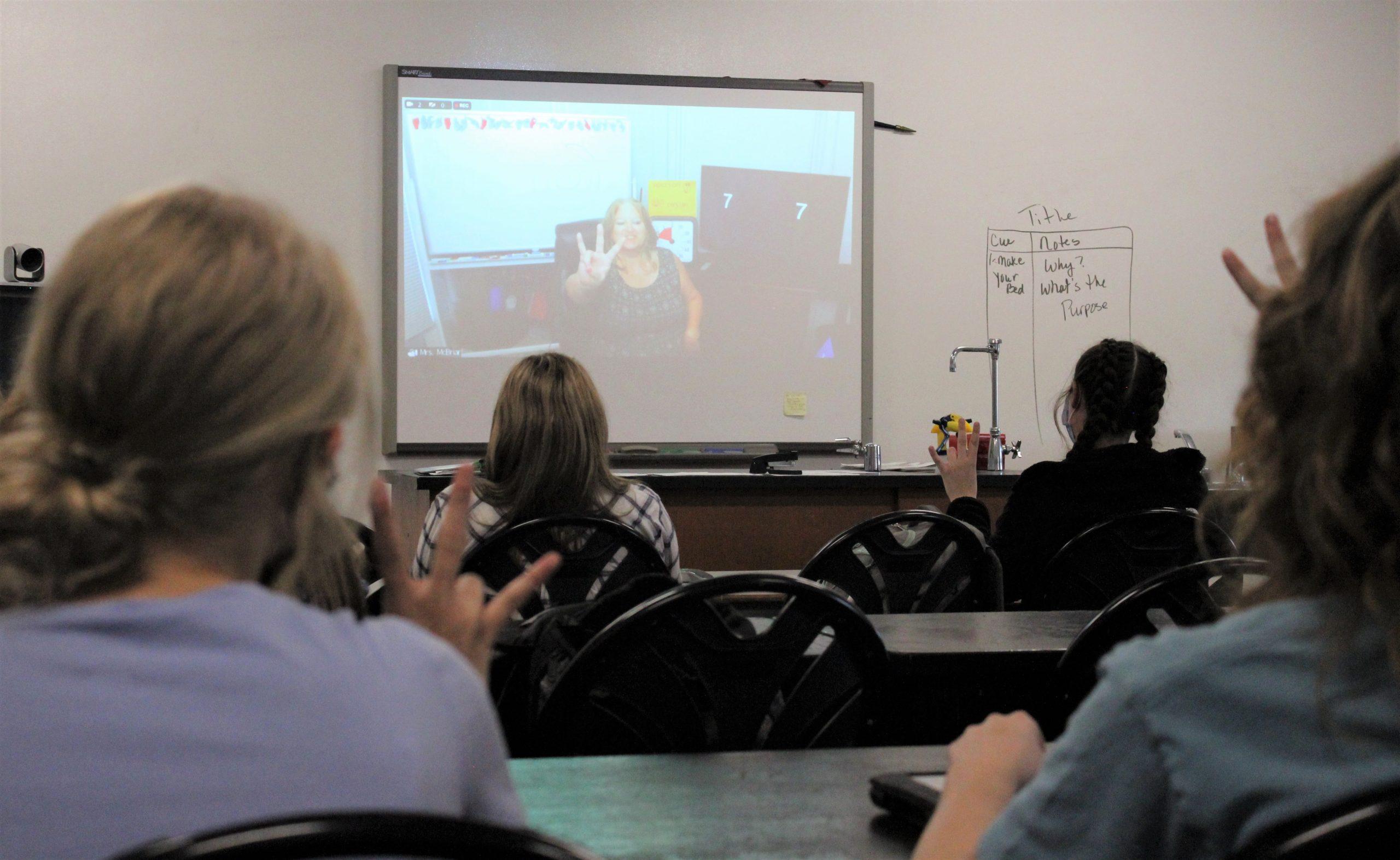 Edison Sign Language Class Photo